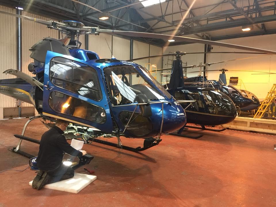 ACS Engineering - Helicopter Maintenance - Scotland